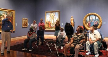 An Alzheimer's art tour at the Brooks Art Museum