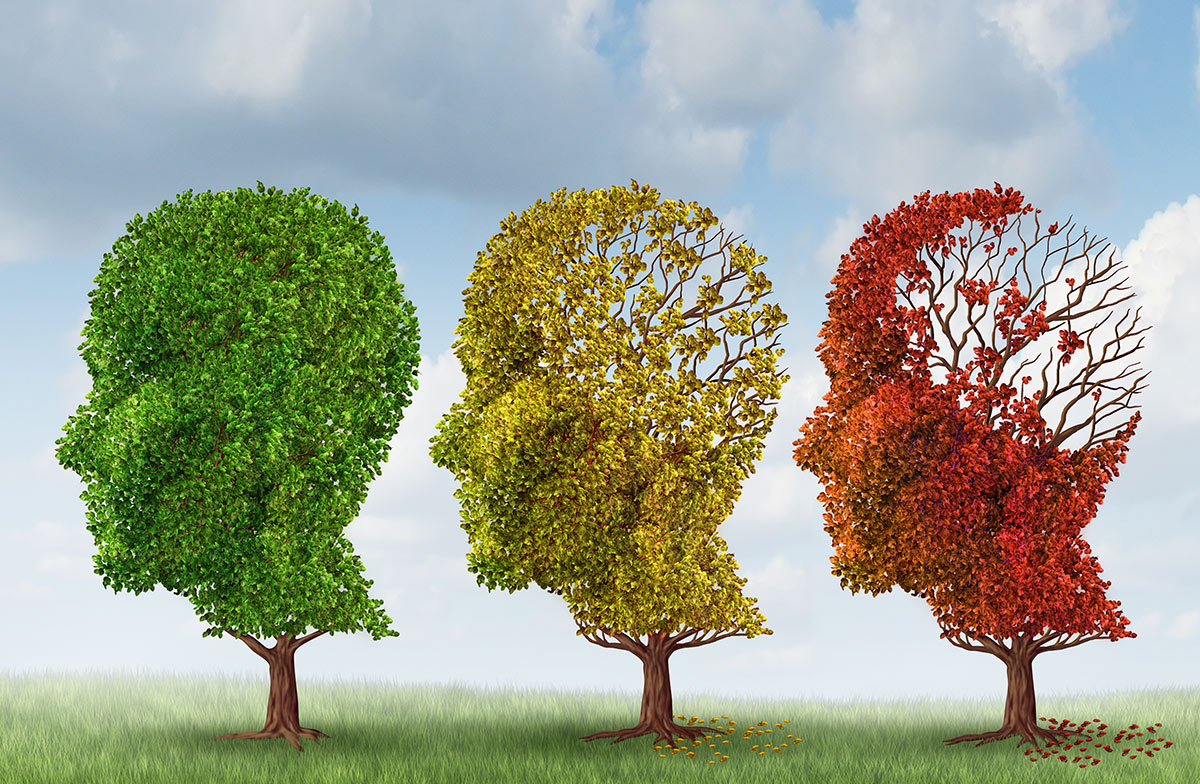 Three Stages of Alzheimer's Disease