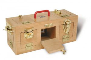 Lock box memory toy for Alzheimer's