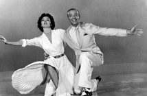 Fred Astaire and Cyd Charisse in a scene from The Band Wagon