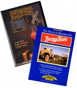 Sentimental Productions Reminiscence DVDs