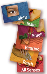 Sensory stimulation for Alzheimer'sSharpen Your Senses card game