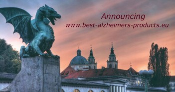 Ljubljana, the city of Best Alzheimer's Products Europe