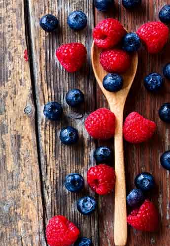 Can maple syrup cure Alzheimer's   berries like these blueberries, strawberries, and raspberries may also provide protection against dementia.