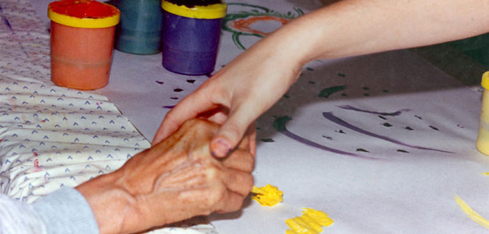 Creating Art is strong alternative therapy for people who have a Alzheimer's disease.