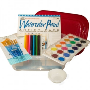 Art Therapy for Alzheimer's | Watercolor Art Kit