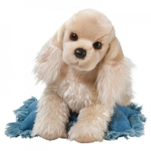 Realistic stuffed Cocker Spaniel dog