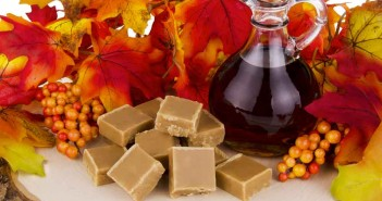 Maple syrup alzheimer's | Picture of maple syrup and maple sugar candy.