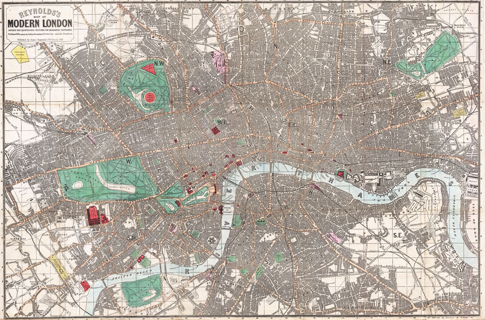 Brain Plasticity and Alzheimer's disease |Map showing the complexity of modern-day London.